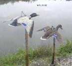 FL 01-02 Sport Plast (Италия) Кряква комплект селезень и утка с распахнутыми крыльями